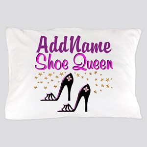 FUN PURPLE SHOES Pillow Case