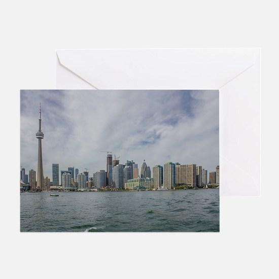 Toronto, Ontario Skyline Greeting Card