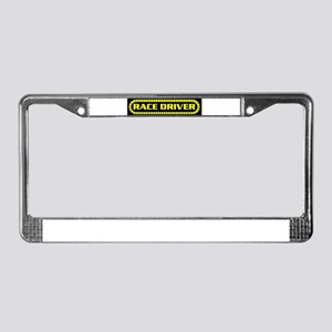 RACE DRIVER License Plate Frame