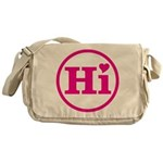 Heart Hawaii Hi Pink Messenger Bag