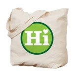 Heart Hawaii Hi Mint Tote Bag