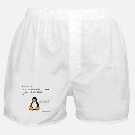 rm -rf windows Boxer Shorts