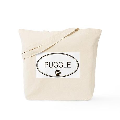 Oval Puggle Tote Bag