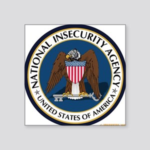 National Insecurity Agency Sticker