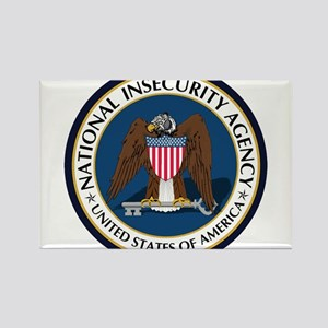 National Insecurity Agency Rectangle Magnet