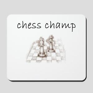 chess champ Mousepad