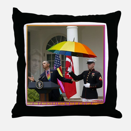 Obama Calls In Marines 4 A Light Drizzle Throw Pil