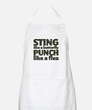 Sting like a butterfly Apron