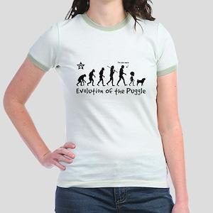 PUGGLE Evolution Jr. Ringer T-Shirt