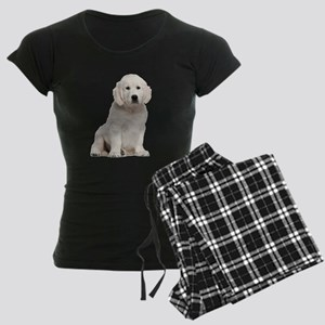 Golden Retriever Women's Dark Pajamas
