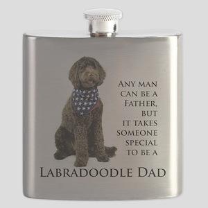 Labradoodle Dad Flask