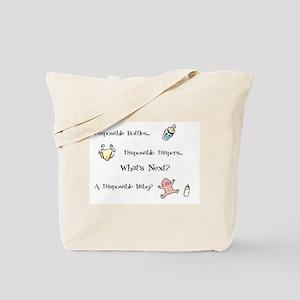Disposable Society Tote Bag
