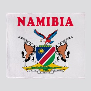 Namibia Coat Of Arms Designs Throw Blanket