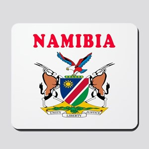 Namibia Coat Of Arms Designs Mousepad