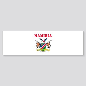 Namibia Coat Of Arms Designs Sticker (Bumper)