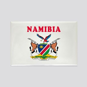 Namibia Coat Of Arms Designs Rectangle Magnet