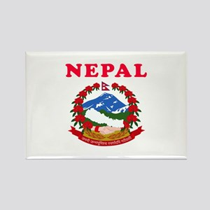 Nepal Coat Of Arms Designs Rectangle Magnet