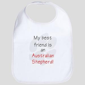 My best friend is an Australian Shepherd Bib