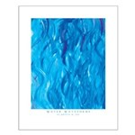 Water Waveforms Small Poster