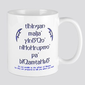 Affairs of Klingons Mug