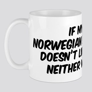 If my Norwegian Buhund Mug