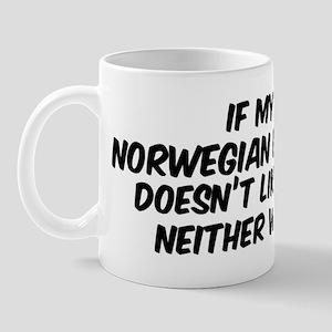 If my Norwegian Buhund Mug