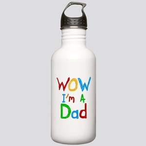 WOW I'm a Dad Stainless Water Bottle 1.0L