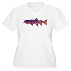 Taimen Plus Size T-Shirt