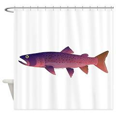 Taimen Shower Curtain