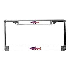 Taimen License Plate Frame