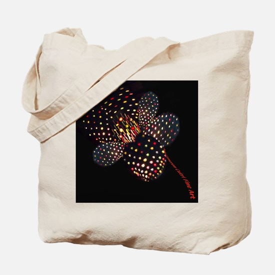 Light Flower Tote Bag