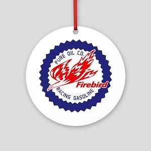 Firebird Racing Gasoline Ornament (Round)