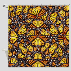 Effie's Butterflies Shower Curtain