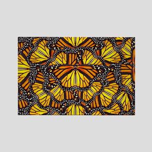 Effie's Butterflies Rectangle Magnet