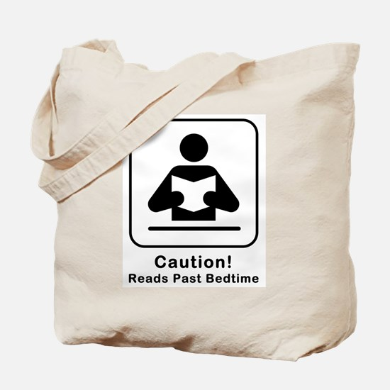 Reads Past Bedtime Tote Bag
