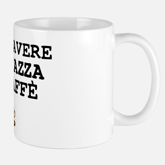 CUP OF COFFEE PLEASE - ITALIAN Small Mug