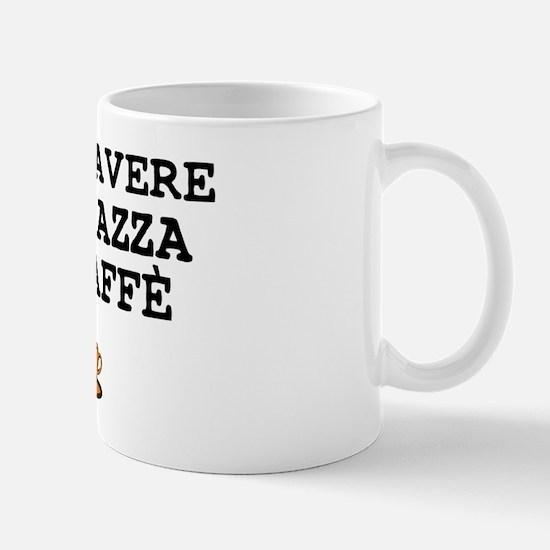 CUP OF COFFEE PLEASE - ITALIAN Small Mug