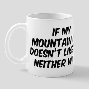 If my Mountain Cur Mug