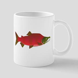 Sockeye Kokanee Salmon male f Mug