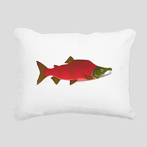 Sockeye Kokanee Salmon male f Rectangular Canvas P