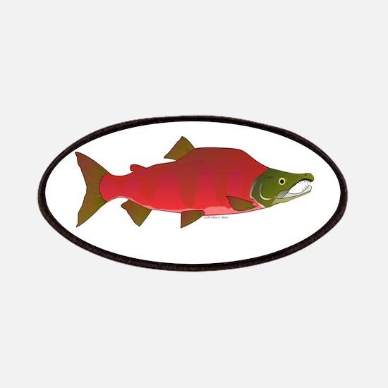 Sockeye Kokanee Salmon male f Patches