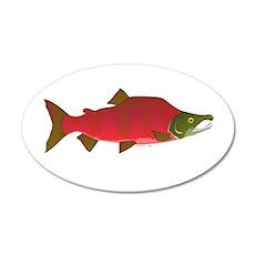 Sockeye Kokanee Salmon male f Wall Decal