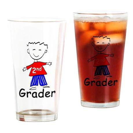 Second Grade Boys Drinking Glass