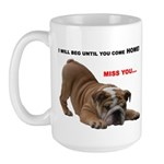 BULLDOG SMILES Large Mug