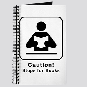 Caution Stops for Books Journal
