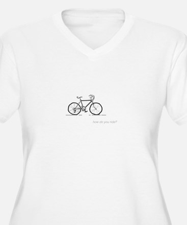 classic bicycle: how do you ride? Plus Size T-Shir