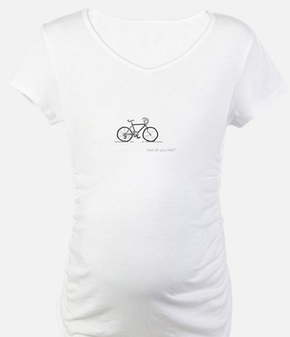 classic bicycle: how do you ride? Shirt