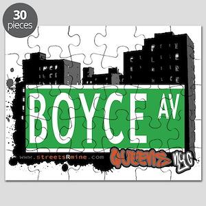 BOYCE AVENUE, QUEENS, NYC Puzzle