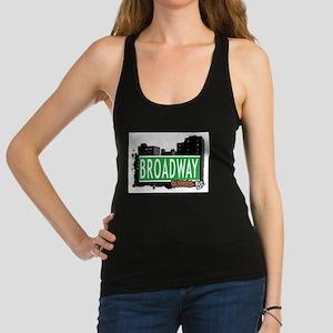 BROADWAY, QUEENS, NYC Racerback Tank Top