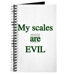 My scales are evil Journal